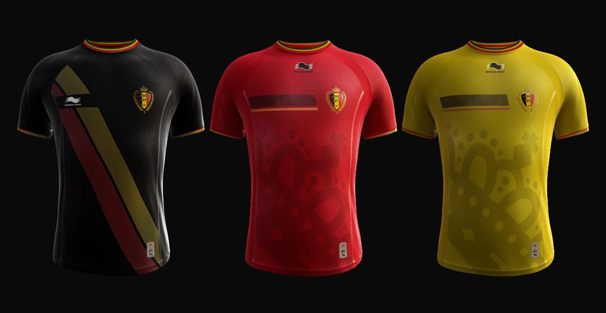 Camiseta suplente, titular y tercera| Foto Facebook Burrda
