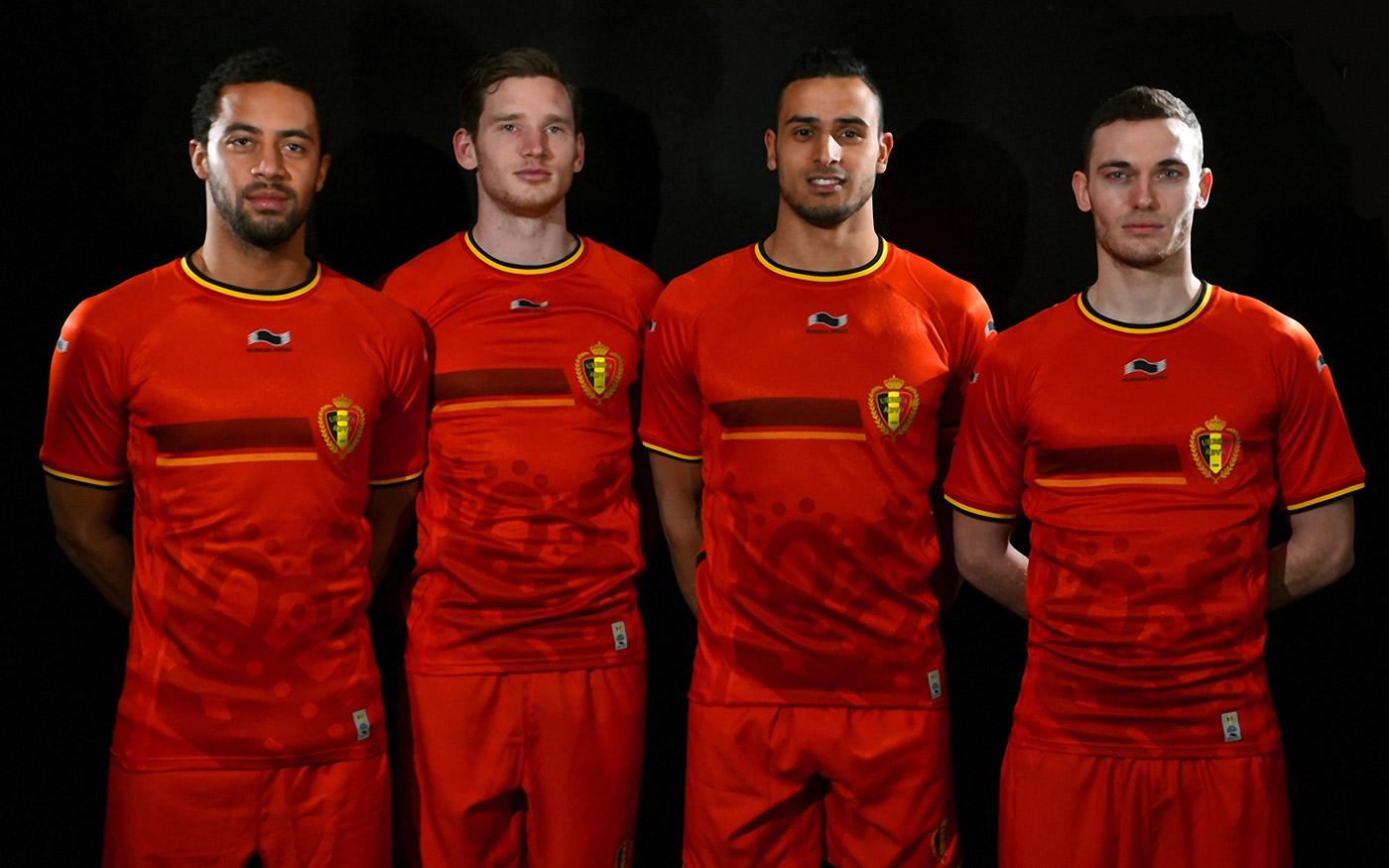 Nueva camisetas de Bélgica | Foto Burrda
