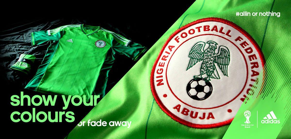 Adidas presentó la casaca titular de Nigeria