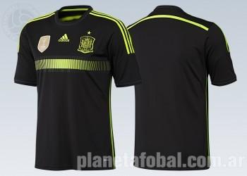 Camiseta suplente de España | Foto Adidas