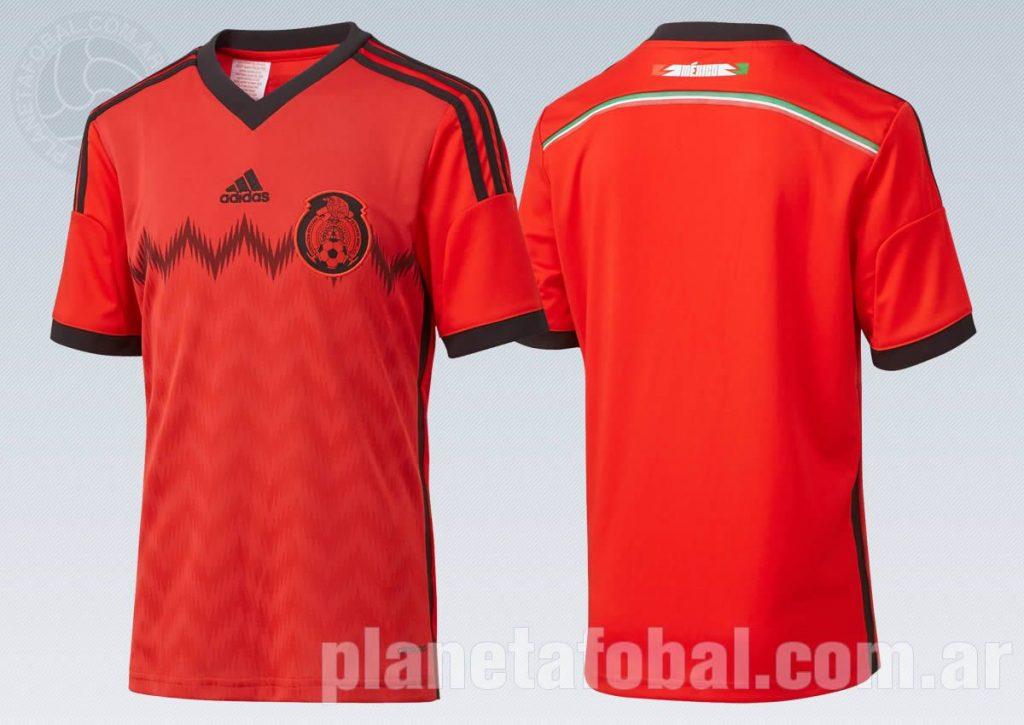 Así luce la equipación suplente de México   Foto Adidas
