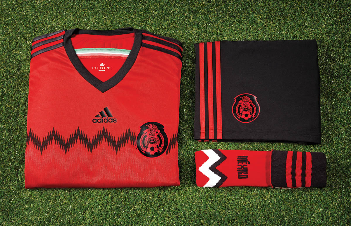 Así luce la equipación suplente de México | Foto Adidas