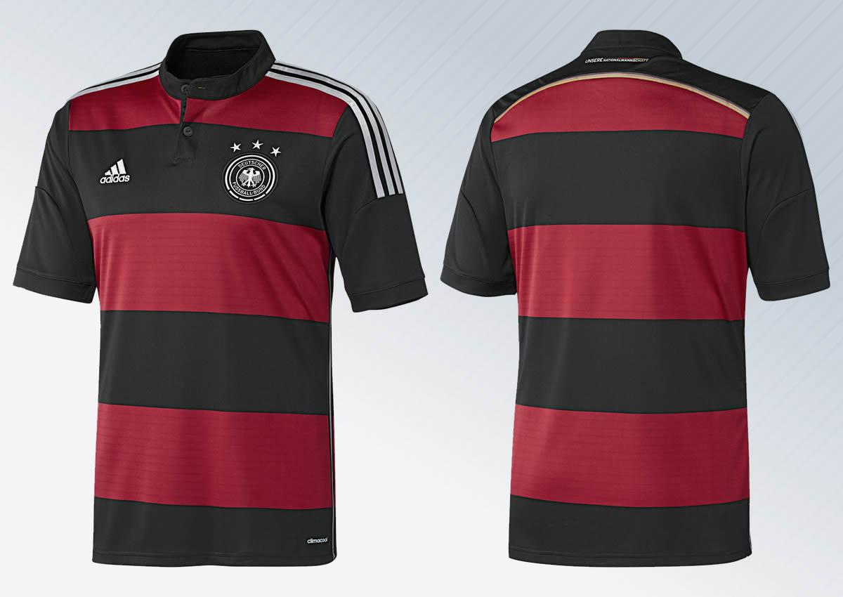 Camiseta suplente de Alemania | Foto Adidas