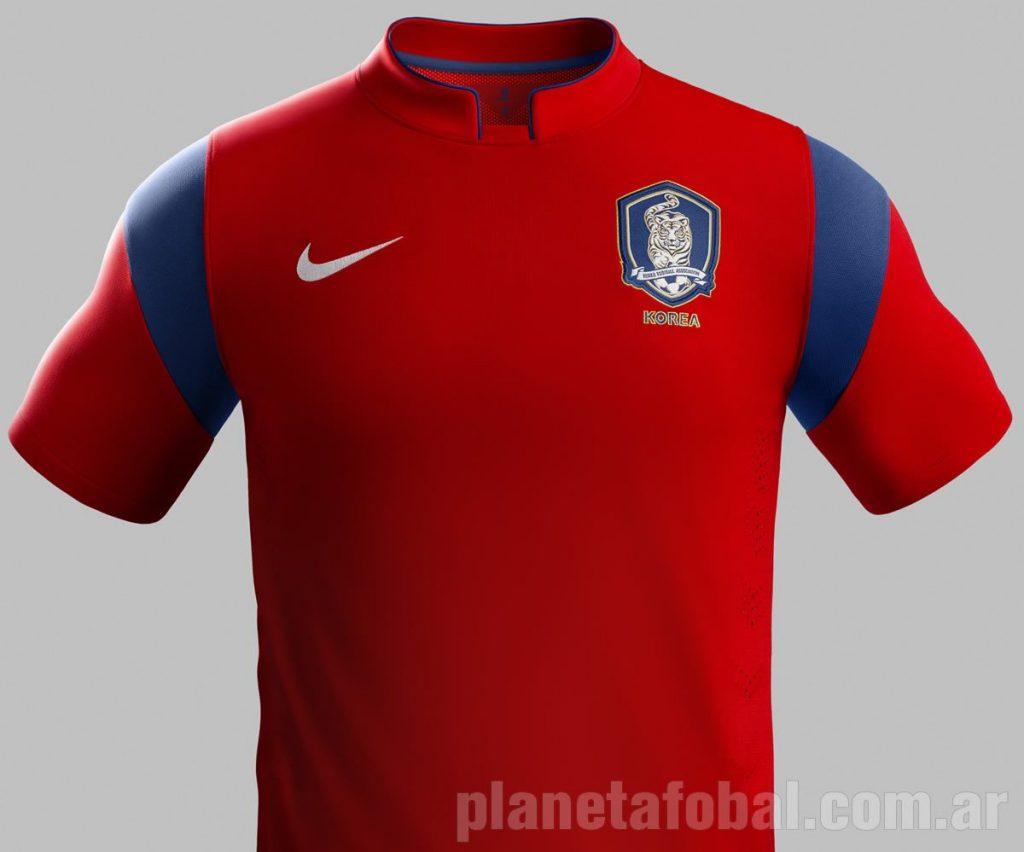 Nueva camiseta titular de Corea del Sur | Foto Nike