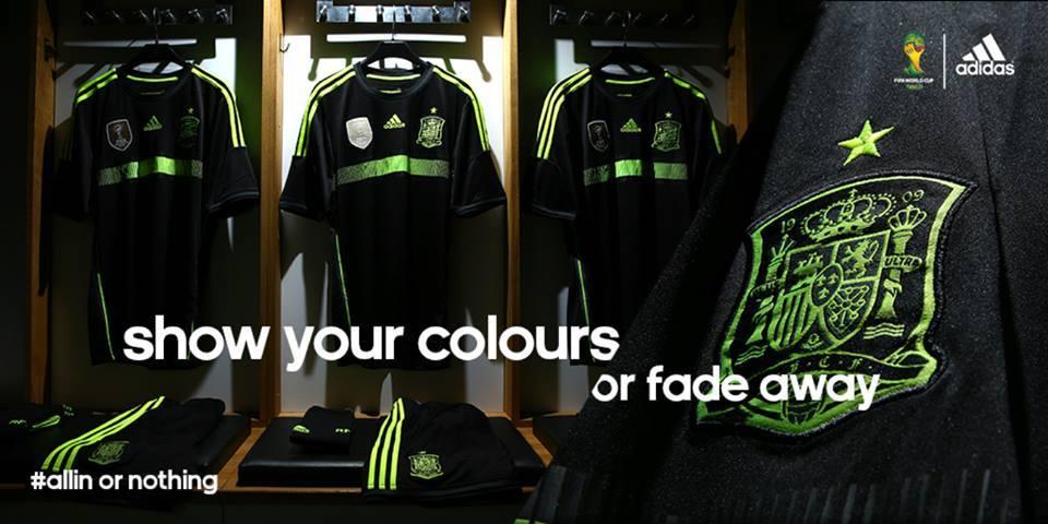 La nueva camiseta de España | Foto Adidas
