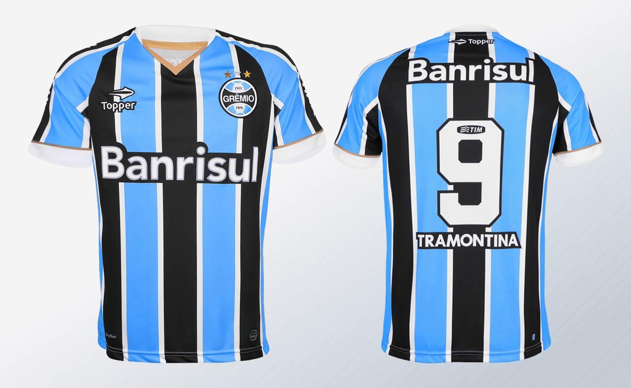 La camiseta de Gremio para la Libertadores | Foto Topper Brasil