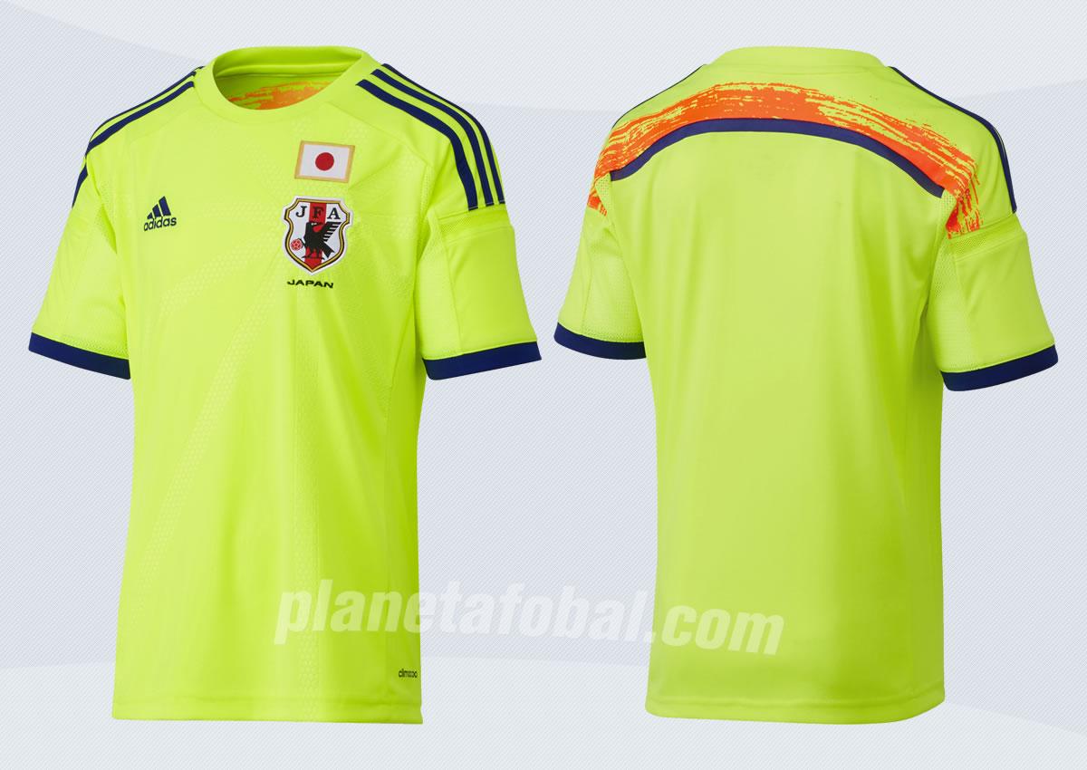 Camiseta suplente de Japón para el mundial | Foto Adidas
