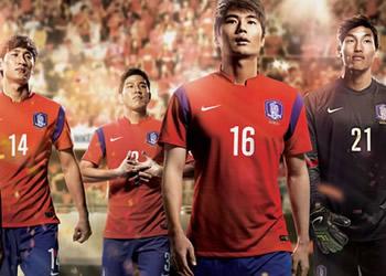 La nueva casaca de Corea del Sur | Foto Nike