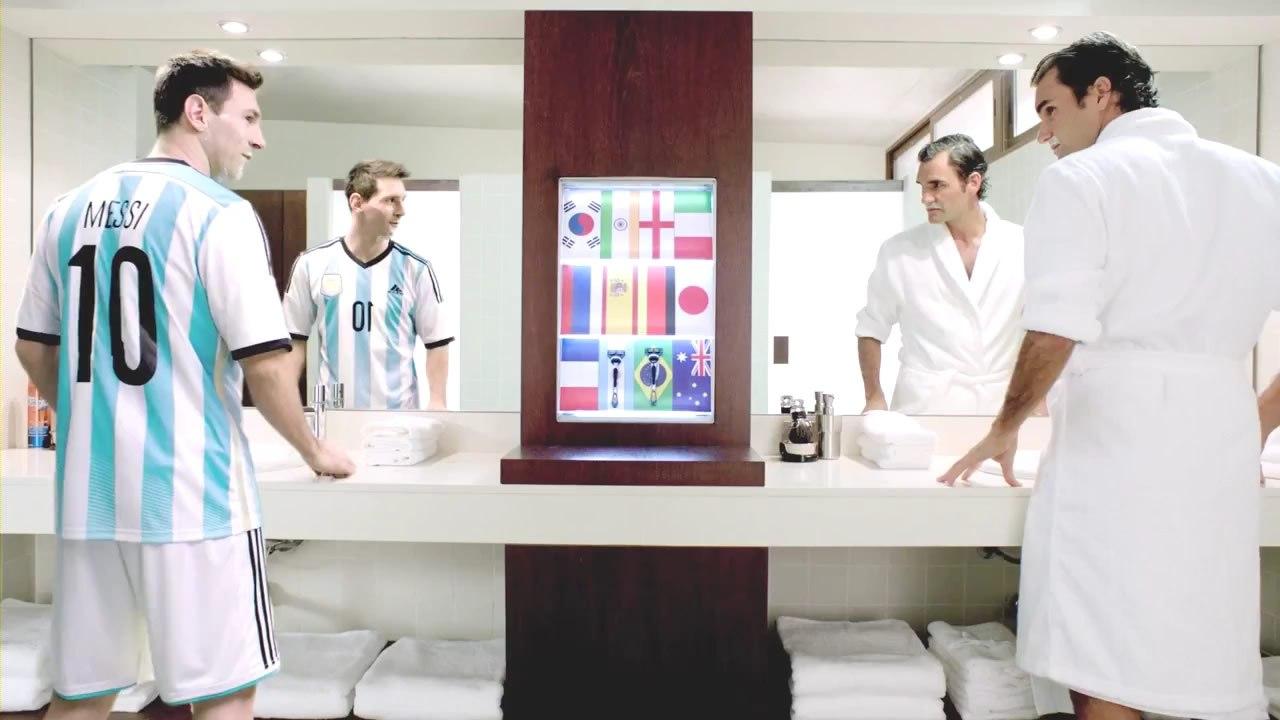 Messi en la nueva publicidad de Gillette
