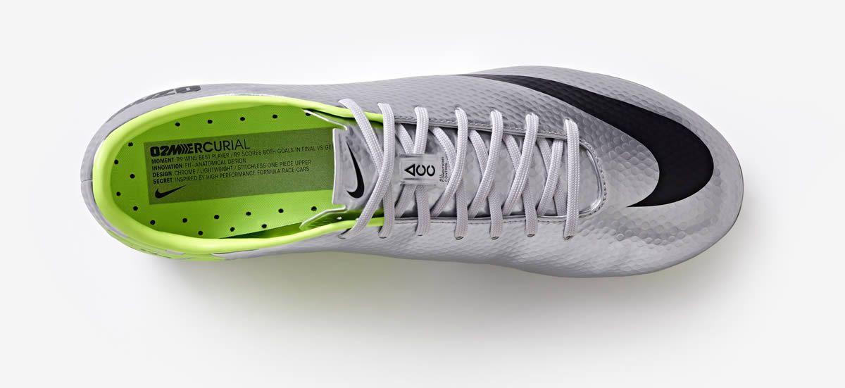 Incripción dentro del botin | Foto Nike