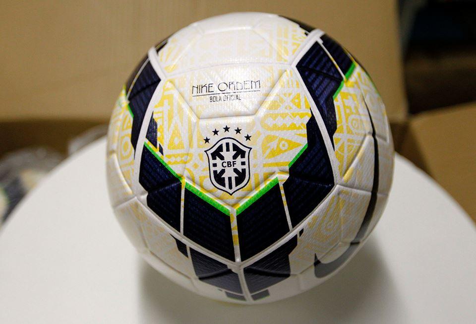 El balón Nike Ordem del Brasileirao | Foto Facebook CBF