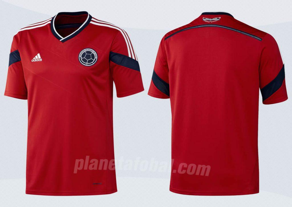 Nueva camiseta suplente de Colombia | Foto Adidas