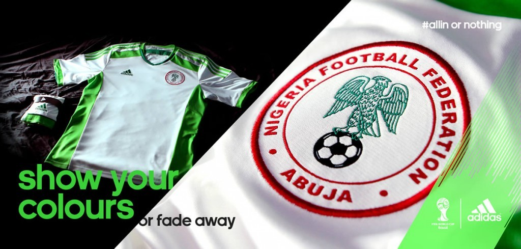 Nueva camiseta de Nigeria | Foto Adidas