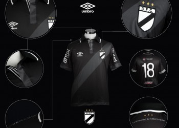 Nueva camiseta suplente de Danubio | Foto web oficial