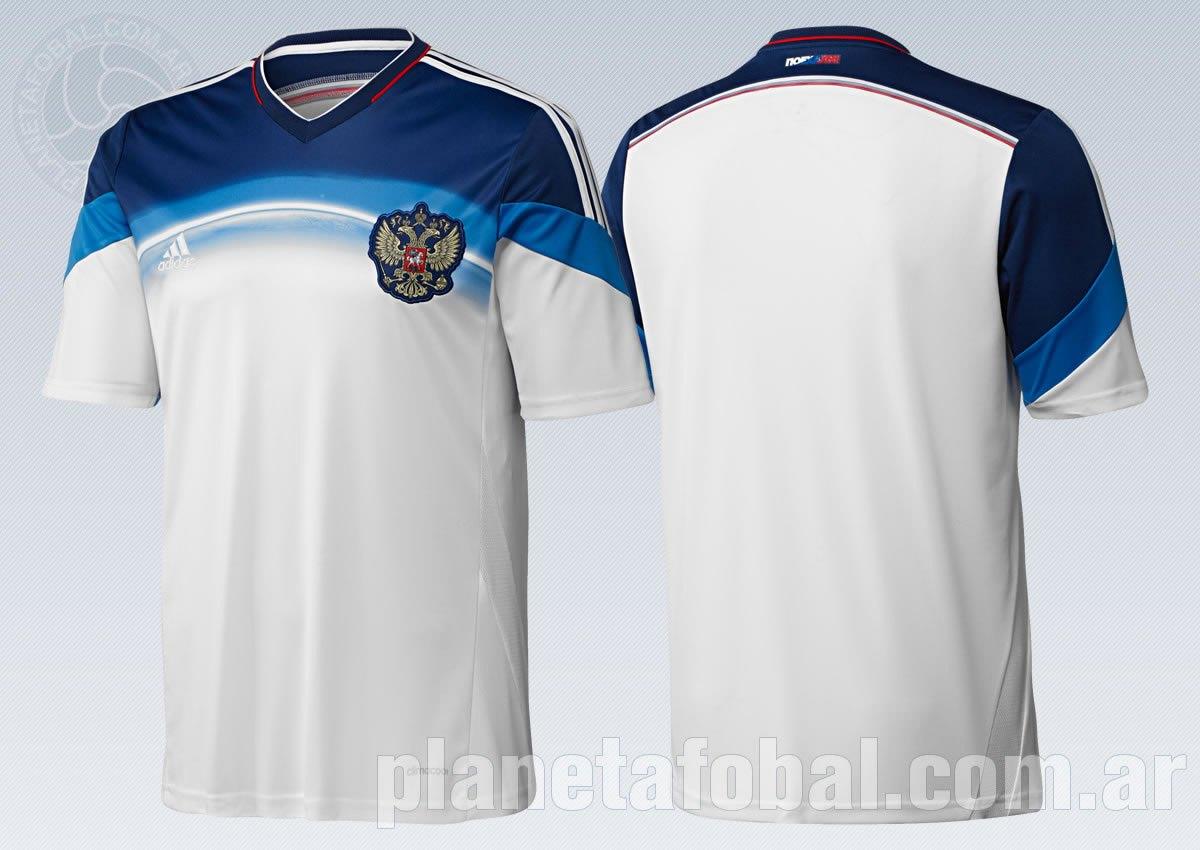 La nueva camiseta de Rusia | Foto Adidas