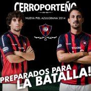 Nueva camiseta titular de Cerro Porteño | Foto Facebook Diadora