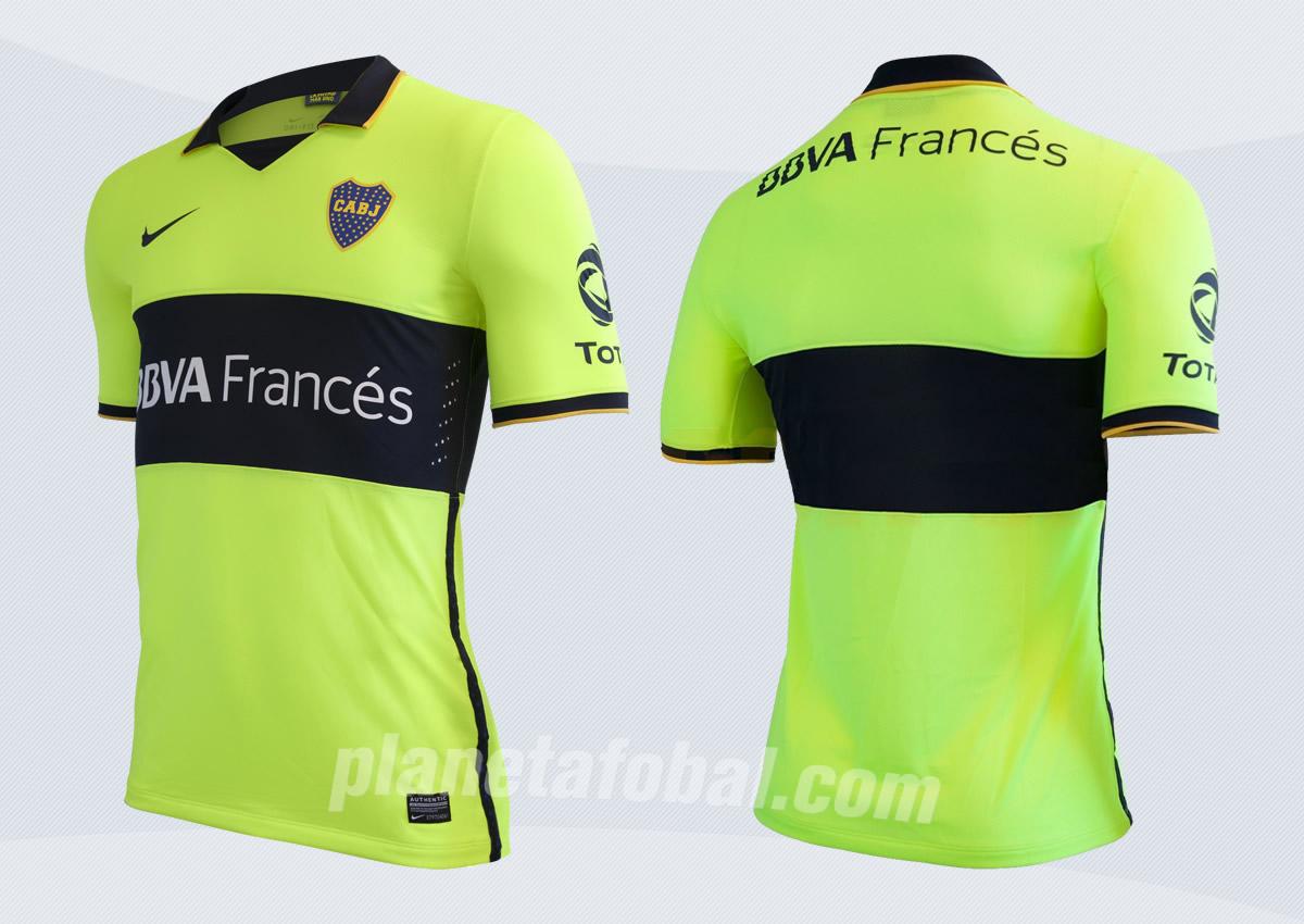 Asi luce la nueva casaca de Boca | Foto Nike