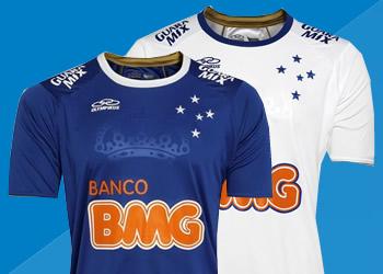 Cruzeiro presentó sus nuevas camisetas | Foto web oficial