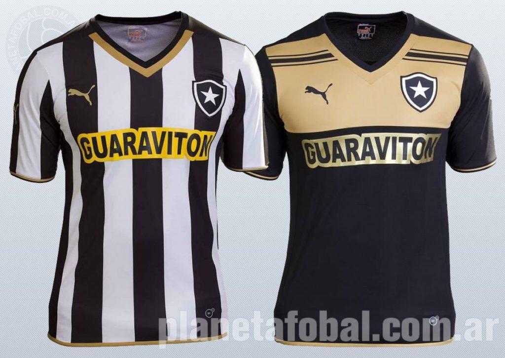 Nuevas camisetas Puma de Botafogo | Foto web oficial