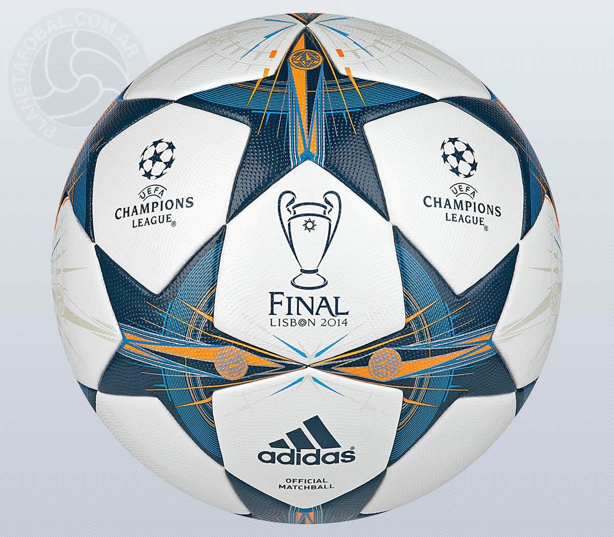 Asi es la pelota de la final de Lisboa | Foto Adidas