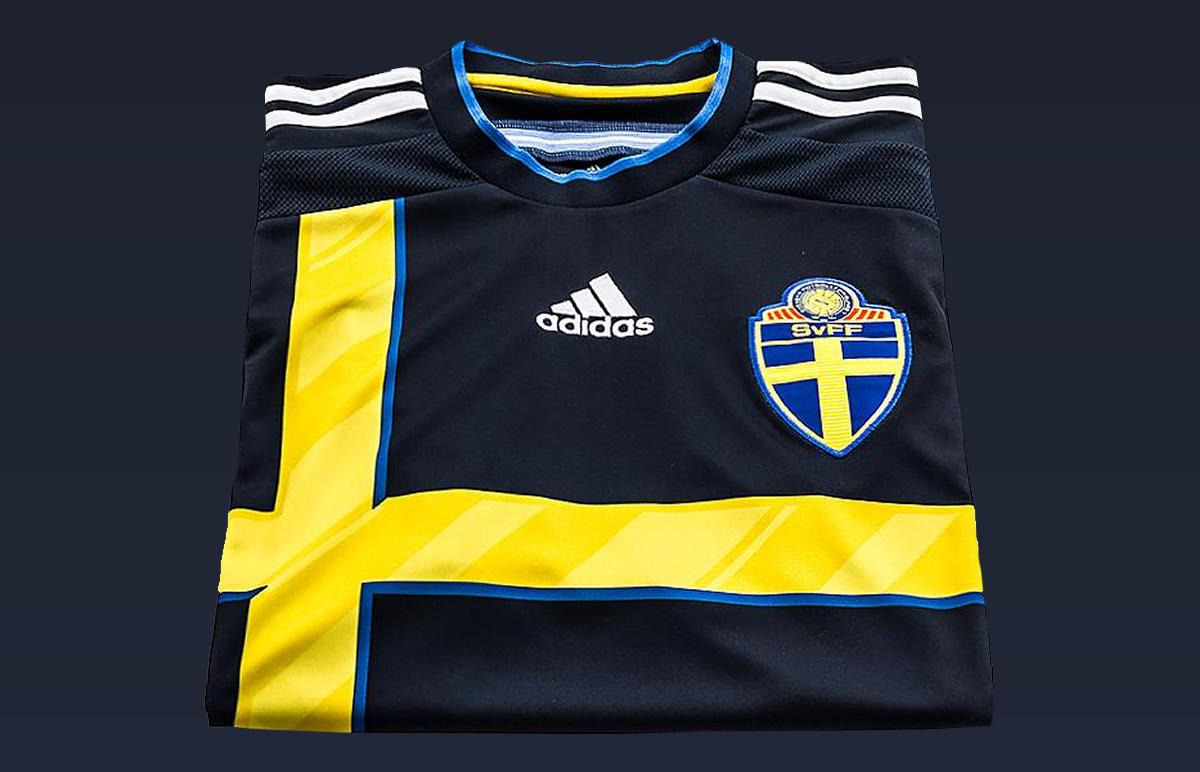 La nueva camiseta de Suecia | Foto Adidas