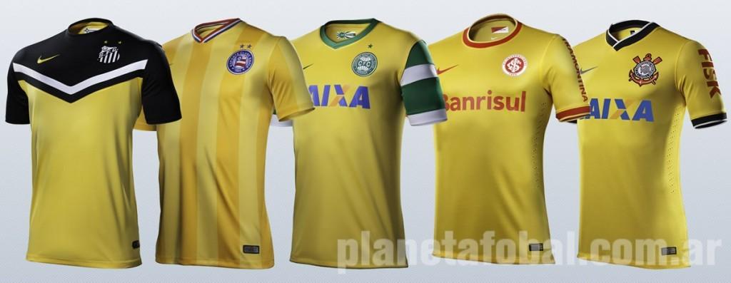 5 clubes brasileros homenajean a la Selección | Foto Nike