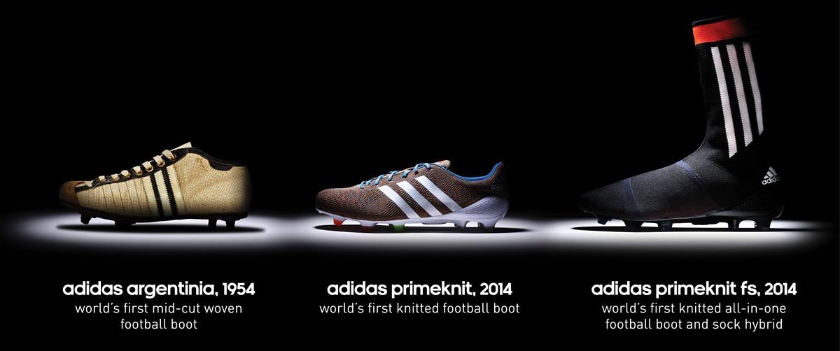 Los botines Adidas Primeknit FS | Foto Adidas