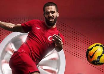 Arda Turam con la casaca titular | Foto Nike