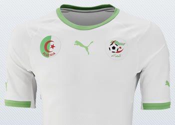 Asi luce la casaca titular de Argelia | Imágenes Puma