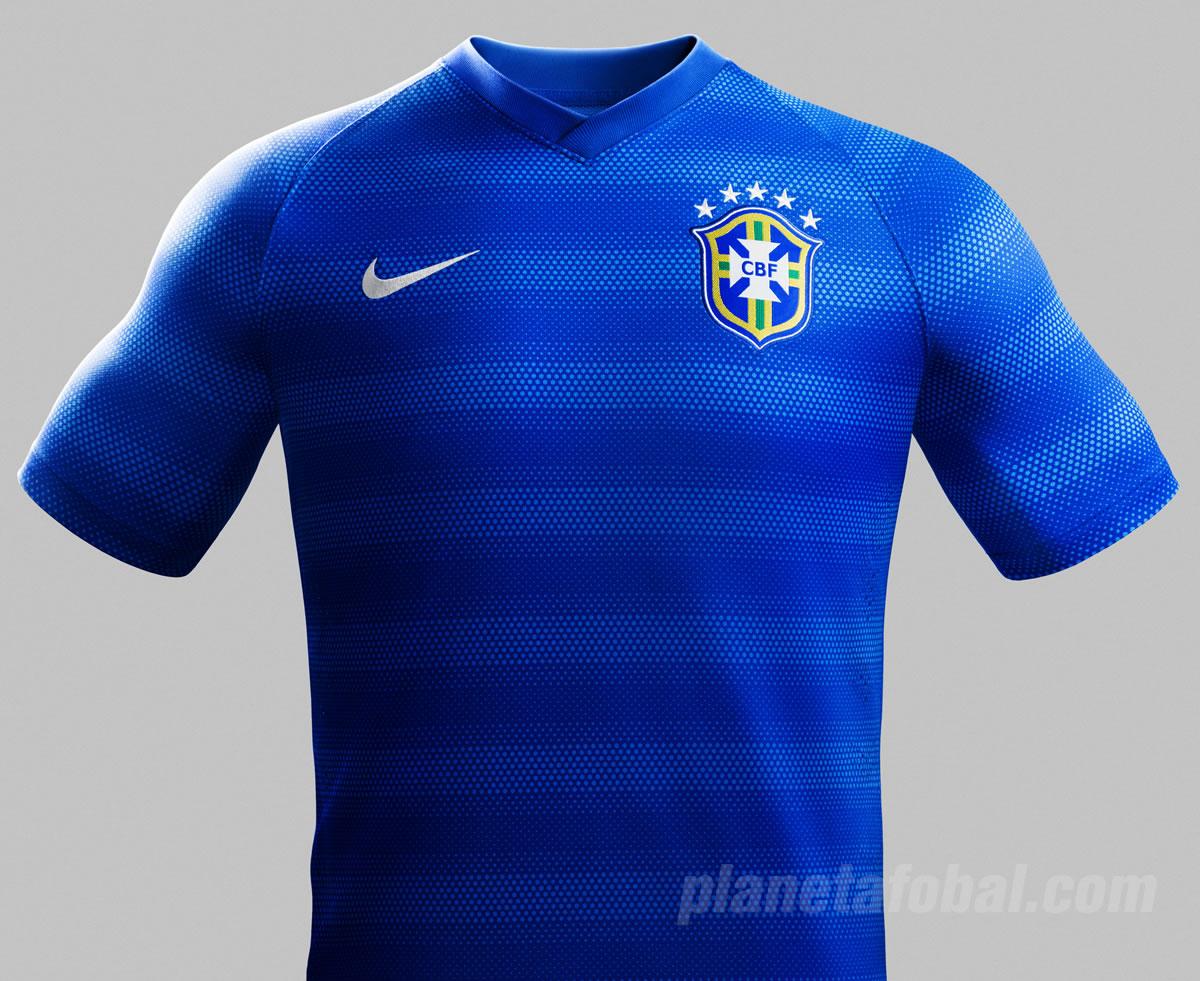La camiseta alternativa de Brasil | Foto Nike