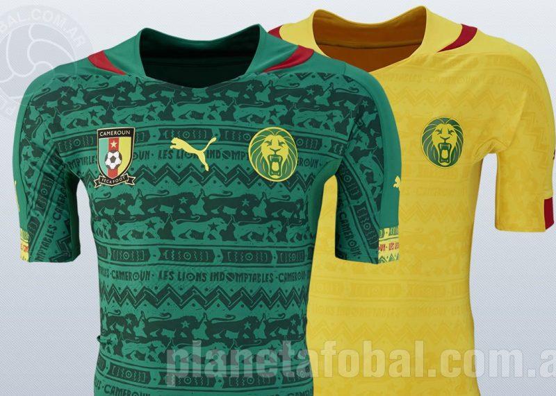 Las dos camiseta de Camerún | Foto Puma