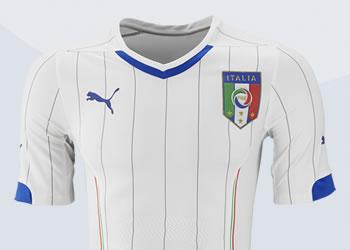 Camiseta suplente de Italia | Foto Puma