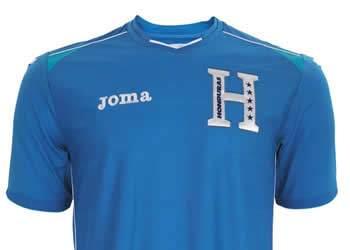 Camiseta suplente de Honduras | Foto Joma