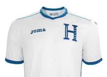 Camiseta titular de Honduras | Foto Joma