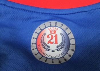 Logo de los 21 titulos internacionales | Foto Facebook Oficial