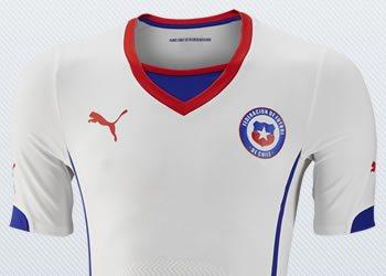 Camiseta suplente de Chile | Imágenes Puma