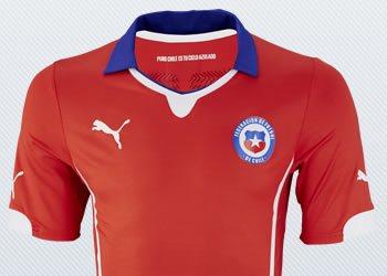 Camiseta titular de Chile | Imágenes Puma