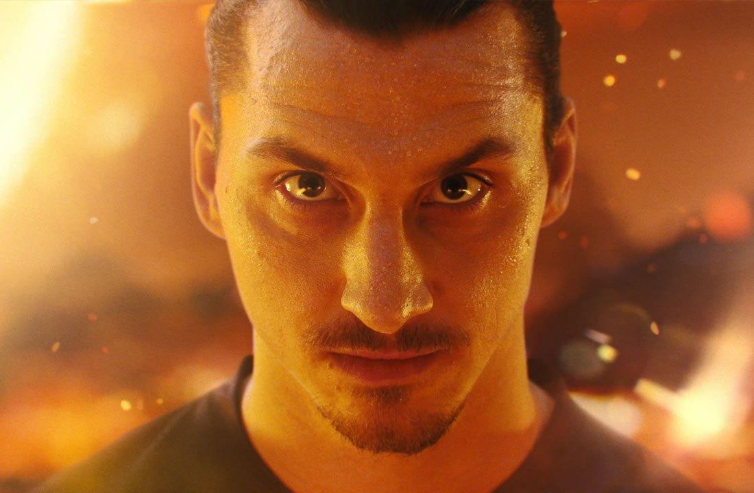 Zlatan Ibrahimovic en la nueva campaña de Nike