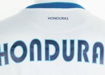 Detalles camiseta titular de Honduras | Foto Joma