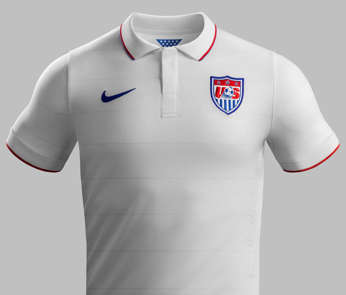 La nueva camiseta de Estados Unidos   Foto Nike