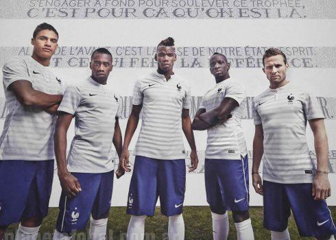 La casaca alternativa de Francia | Foto Nike