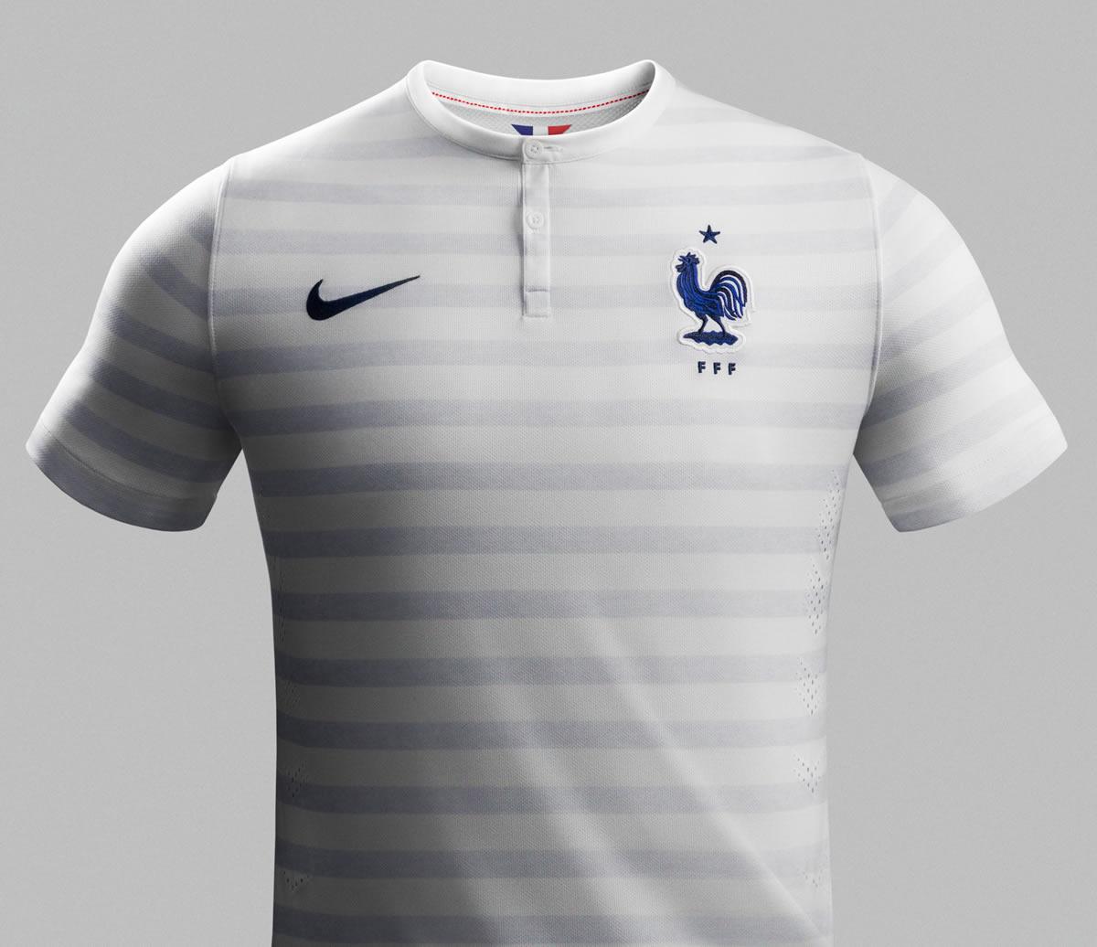 Camiseta alternativa de Francia | Foto Nike