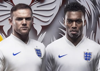 Gerrard, Hart, Rooney, Sturridge y Wilshere | Foto Nike