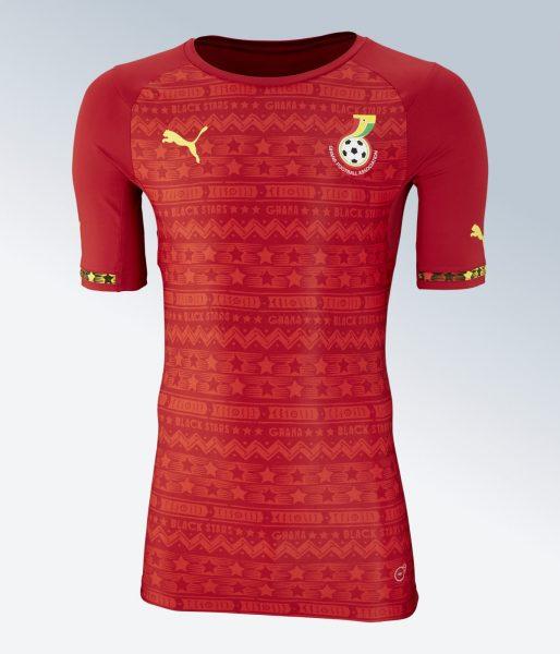 Camiseta suplente de Ghana | Imágenes Puma