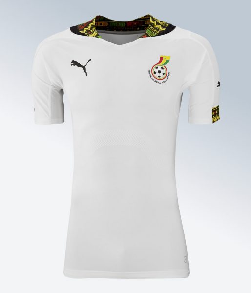 Camiseta titular de Ghana | Imágenes Puma