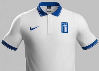 Camiseta titular de Grecia | Foto Nike