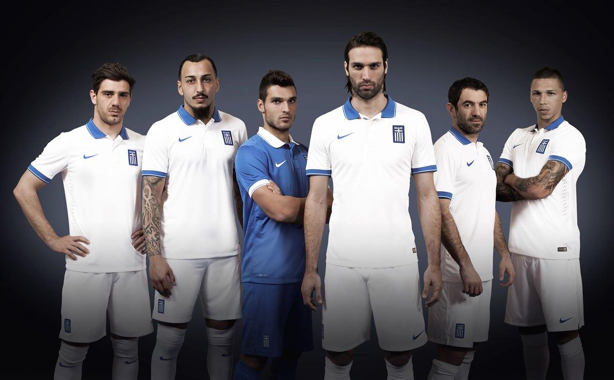 Los jugadores con las casacas | Foto Nike
