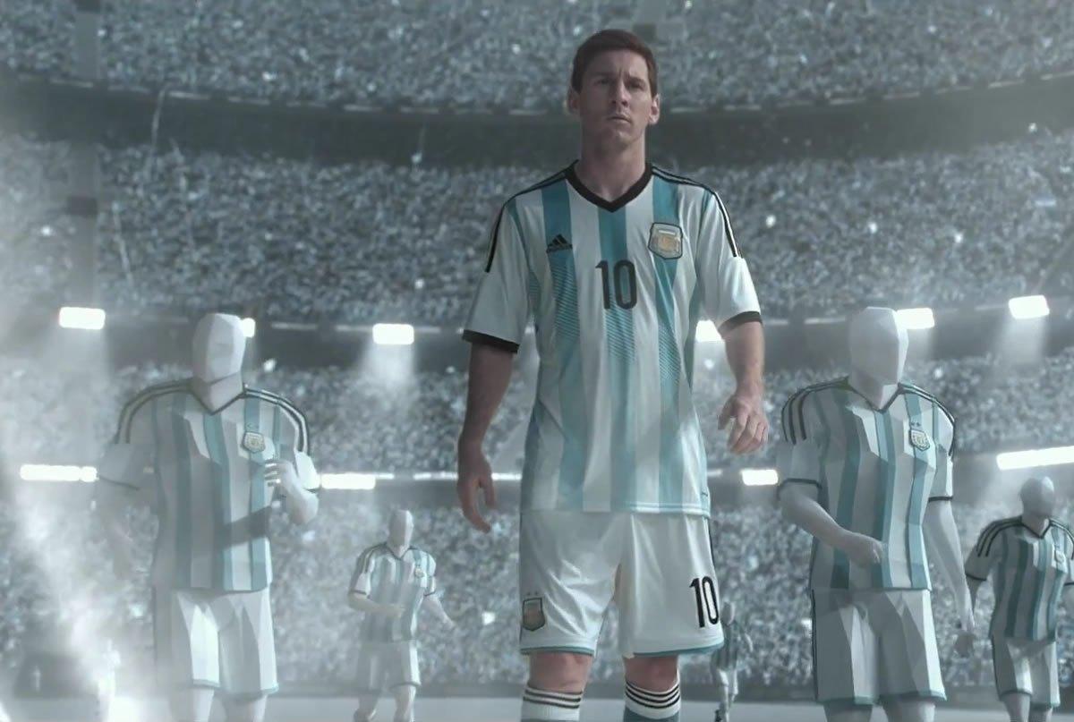 Messi en la nueva publicidad de Adidas