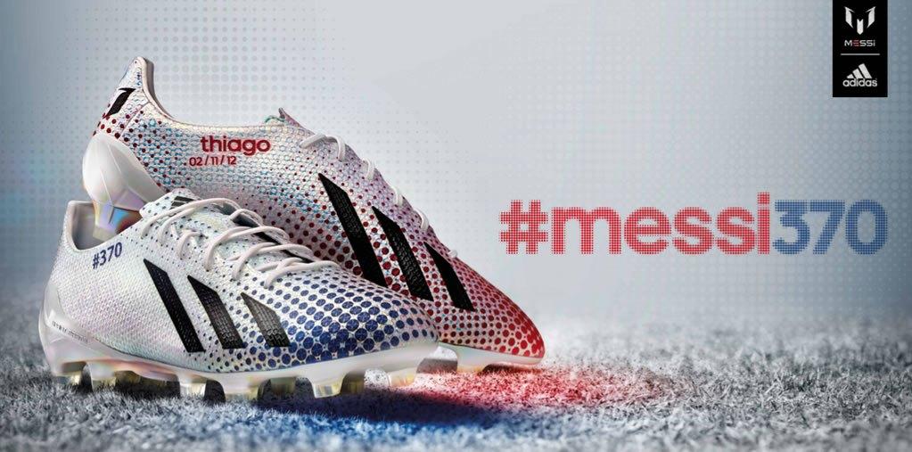Asi luce la edición limitada #messi370 | Foto Team Messi