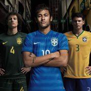 Las tres camisetas de Brasil | Foto Nike